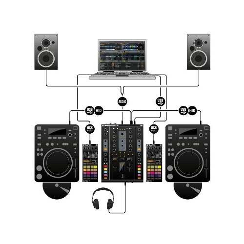 Controlador Usb Native Instruments Traktor Z2 en internet