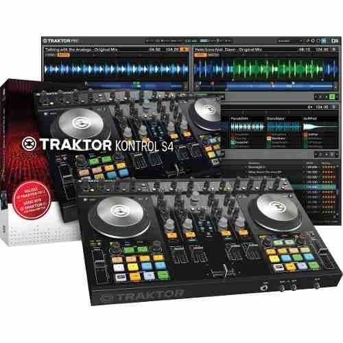Controlador Usb Native Instruments Traktor S4 Mk2 - SOUNDTRADE
