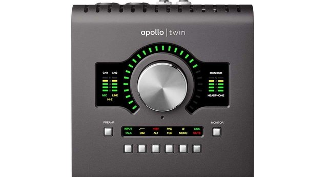 Placa de Audio Universal Audio Apollo Twin Solo mk II