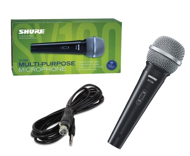 Microfono Vocal SHURE SV100 en internet
