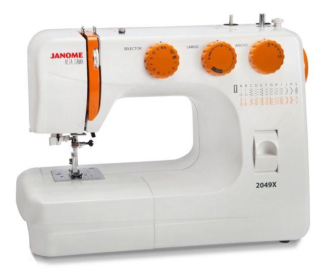 Maquina de coser Janome 2049 X - Contexar S.A.