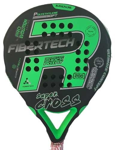Paleta Paddle Padel Royal Sup Cross E.l.+ Grip + Protector