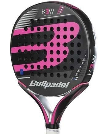 Paleta Paddle Bull Padel K3 Woman + Funda + Grip + Protect