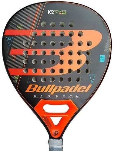 Paleta Paddle Bull Padel K2 Power +funda + Grip + Protector
