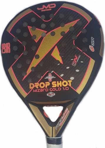 Paletas Paddle Padel Drop Shot Wizard Gold