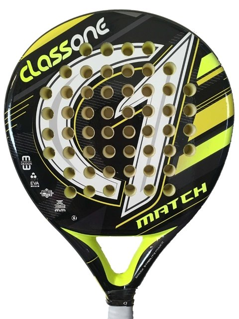 Paletas Padel Class One Match Eva Soft + Grip + Prot