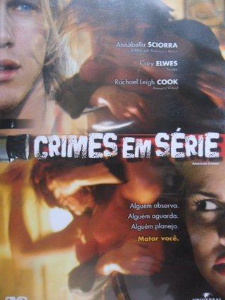 DVD CRIMES EM SÉRIE