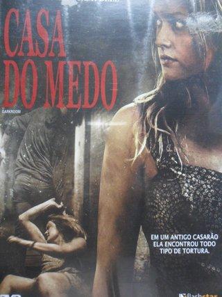 DVD CASA DO MEDO