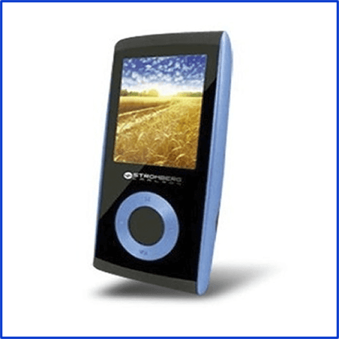 Reproductor MP4 Stromberg Carlson 8GB Azul