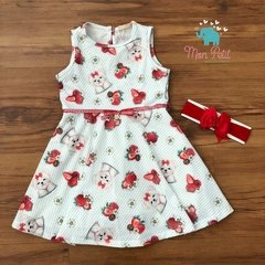 VESTIDO STRAWBERRY PETIT CHERIE - 31046