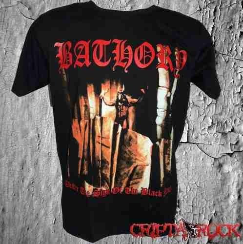 1f1b27068d Camiseta Banda Rock Black Metal Bathory (sinc)
