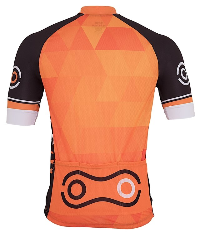 Camisa de Ciclismo Márcio May Sport Orange na internet