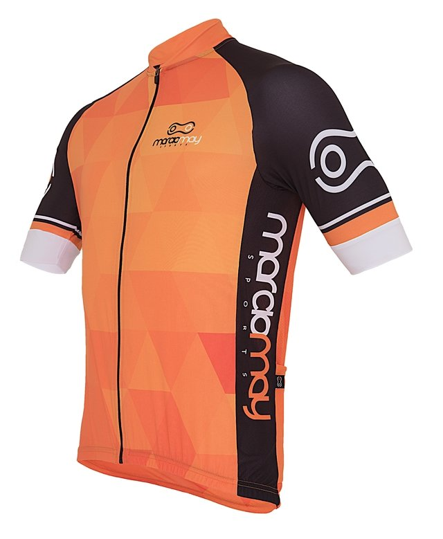 Camisa de Ciclismo Márcio May Sport Orange
