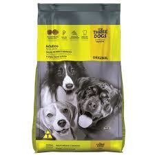 Three Dogs Original Adulto Raças Medias e Grandes 15 kg