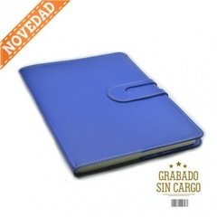 Agenda Howard Semanal Flexible Azul Francia