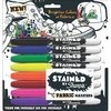 Marcadores Sharpie Stained Brush Tip X 8 Unidades para Tela