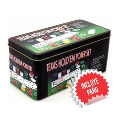 Fichero Texas Hold´em Poker Set X 200