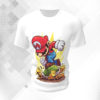 Camiseta Mario Bros Casco