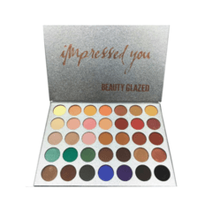 Paleta de Sombras Impressed You 35 Cores - Beauty Glazed - comprar online