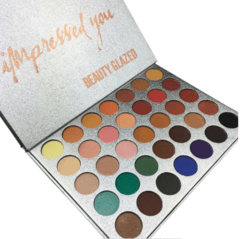 Paleta de Sombras Impressed You 35 Cores - Beauty Glazed na internet