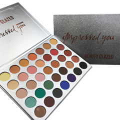 Paleta de Sombras Impressed You 35 Cores - Beauty Glazed - Loja Make Mania