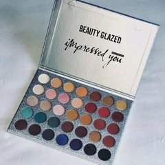 Paleta de Sombras Impressed You 35 Cores - Beauty Glazed
