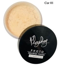 Pó Translúcido Photo Microfinish Powder -  Playboy - comprar online