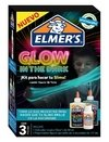 Kit Elmers Slime Glow In The Dark Brillo Oscuridad X 3 Piezas