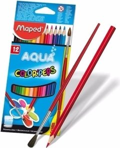 Lápices de Colores Maped Color´Peps AQUA ACUARELABLES X12 - comprar online
