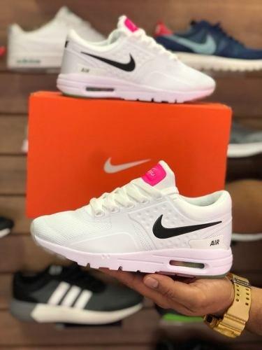 Tenis Zapatillas Nike Air Max Zero Essential Blanca Mujer 2551c736a82da
