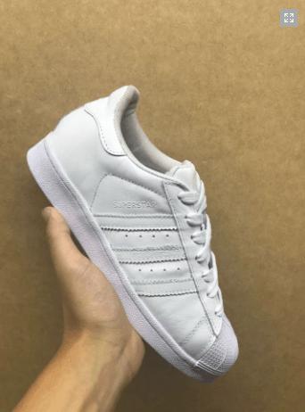 2480d8c86dbf9 Adidas Superstar branco + RELOGIO ADIDAS DE BRINDE