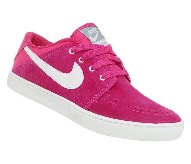 1b7d814f4d Tênis Feminino Nike Suketo Leather Couro Rosa