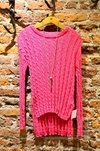 Sweater ochitos largo