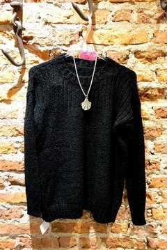 Sweater negro canesu
