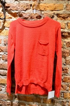 Sweater con bolsillito