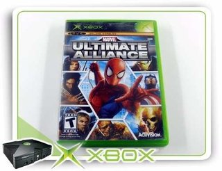 Marvel Ultimate Alliance Original Xbox Clássico Xbox