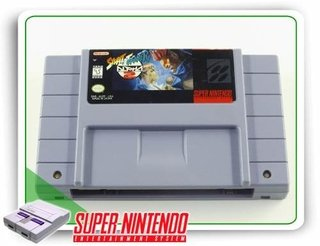 Street Fighter Alpha 2 Original Snes Super Nintendo