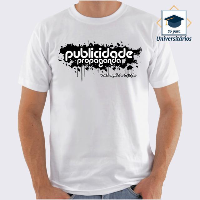 Camiseta Propaganda Camiseta Publicidade E Publicidade E Propaganda Camiseta TkZiOXuP