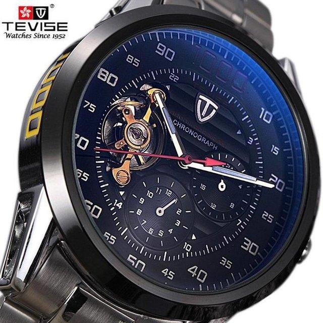 4199cf2b63c Relógio TEVISE Tourbillon 1000 - Tenda Shopping Store