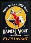 Quadro It's Ladies Night