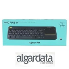 Teclado y Mouse Logitech K400 Plus Wireless Touch