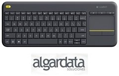 Teclado y Mouse Logitech K400 Plus Wireless Touch en internet