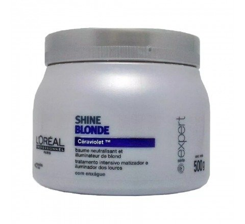 LOREAL PROFESSIONEL - Máscara Shine Blond 500g