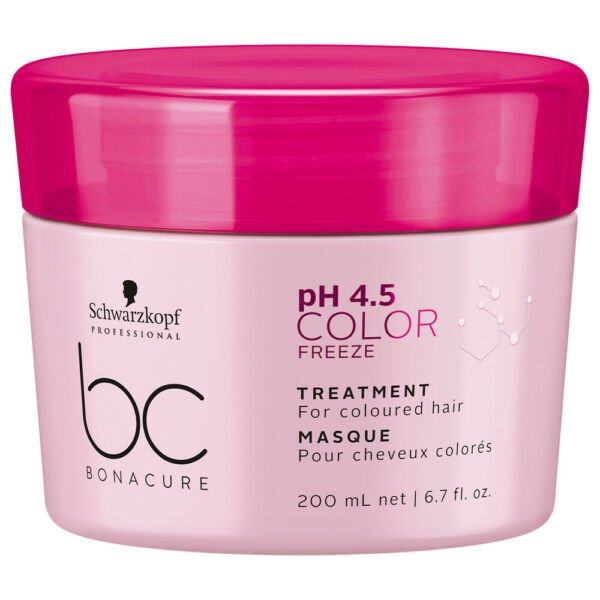 Máscara Capilar Schwarzkopf Professional BC Bonacure pH 4.5 Color Freeze Treatment -  200ml