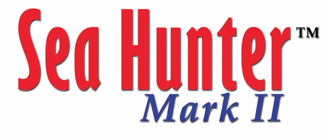 Logo SEA HUNTER MARK 2 do detector Garrett