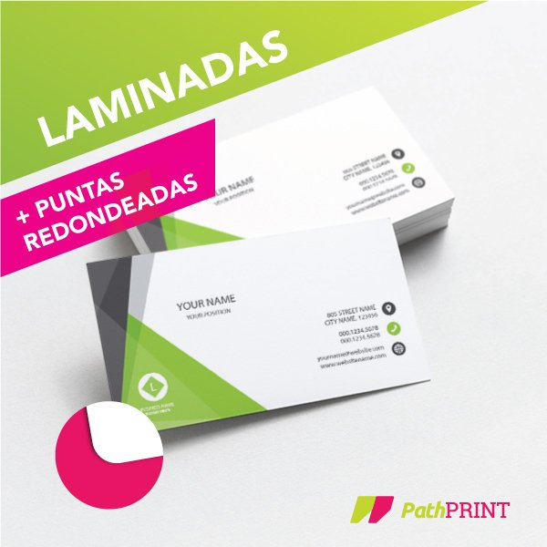 547e97df1927f 200 Tarjetas Personales Presentacion Laminadas 24hs Santelmo