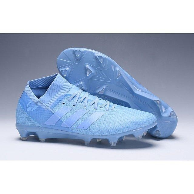 69f05587d2 Chuteira Adidas Nemeziz 18.1 Azul Claro - BNV MAGAZINE