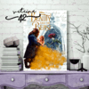 Quadro - Beauty and the Beast - Casal - comprar online