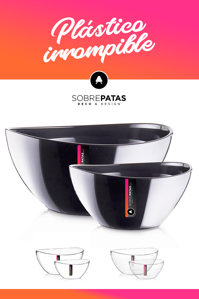 Bowls UOVO Large - Pack x 3 - Sobre Patas