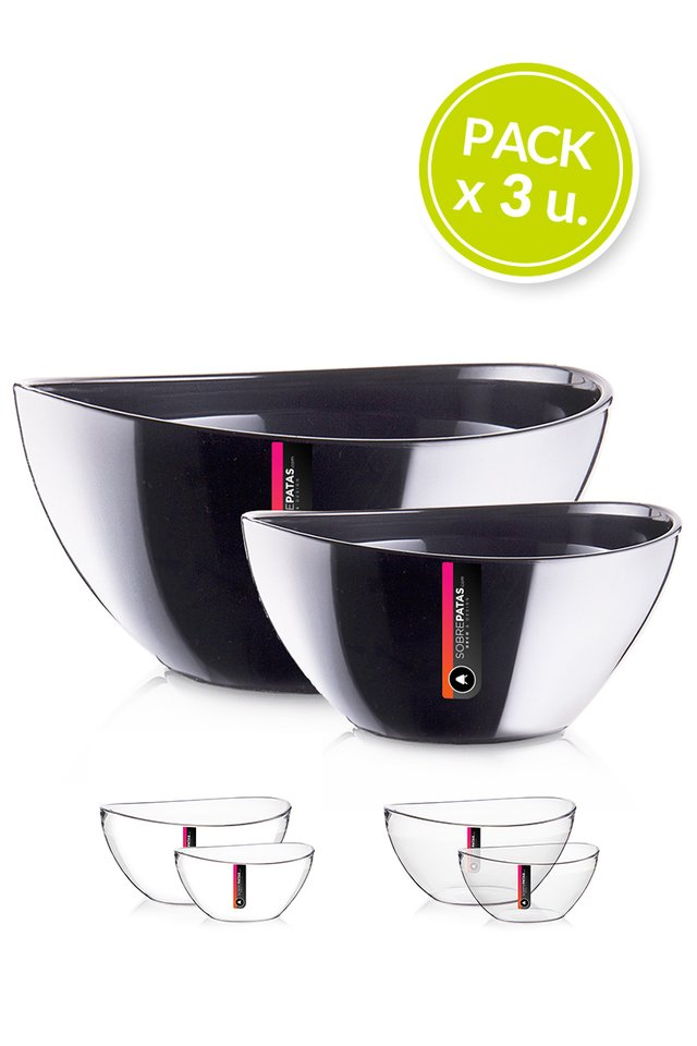 Bowls UOVO Large - Pack x 3